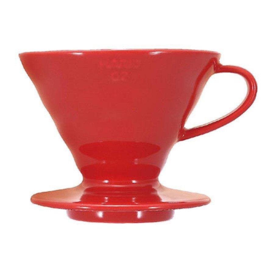 Dripper Hario V60-02 keramický červený