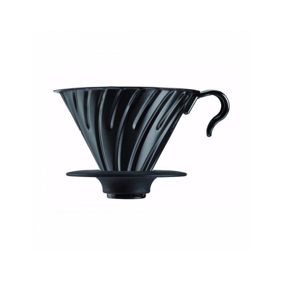Dripper Hario V60-02 černý matný