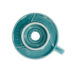 Dripper Hario V60-02 keramický tyrkysový