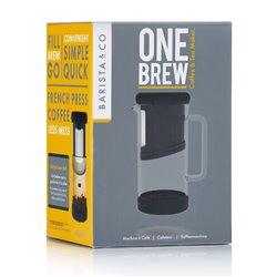 One Brew na kávu a čaj - černá Barista&CO
