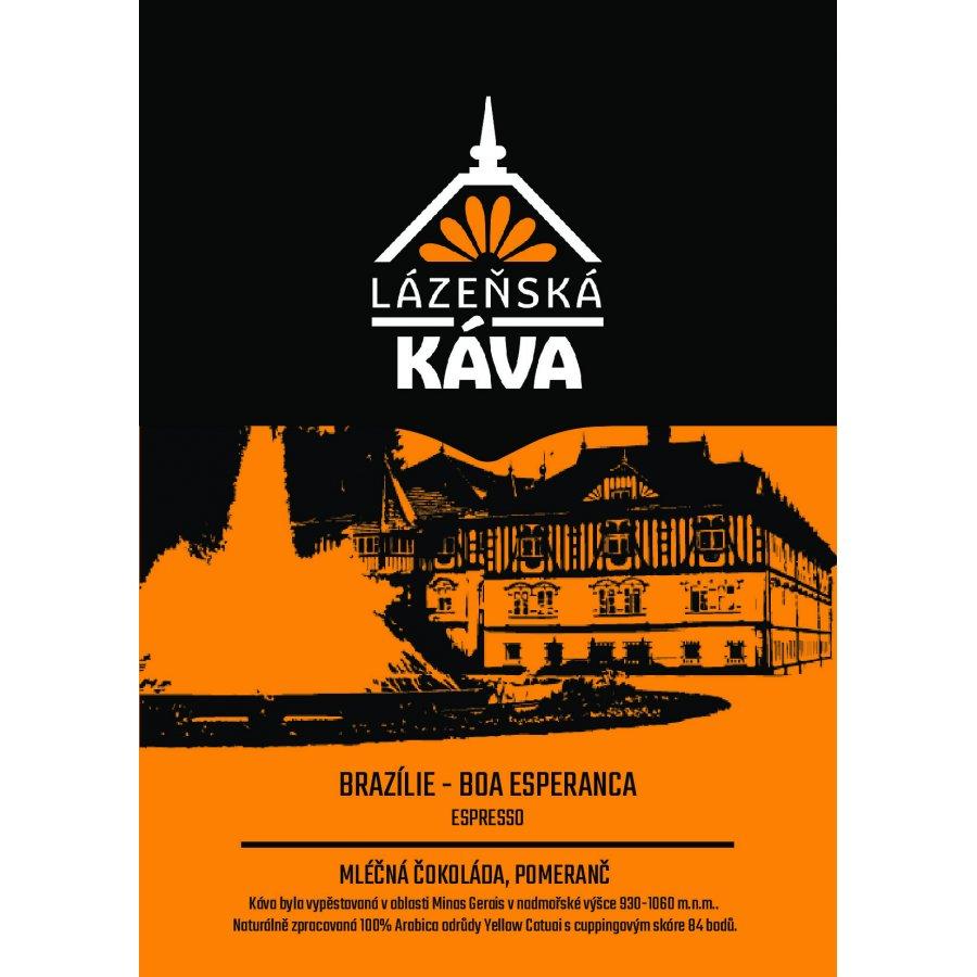 Výběrová káva - Brazílie, Boa Esperanca