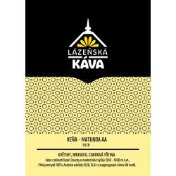 Výběrová káva - Keňa, Matunda AA