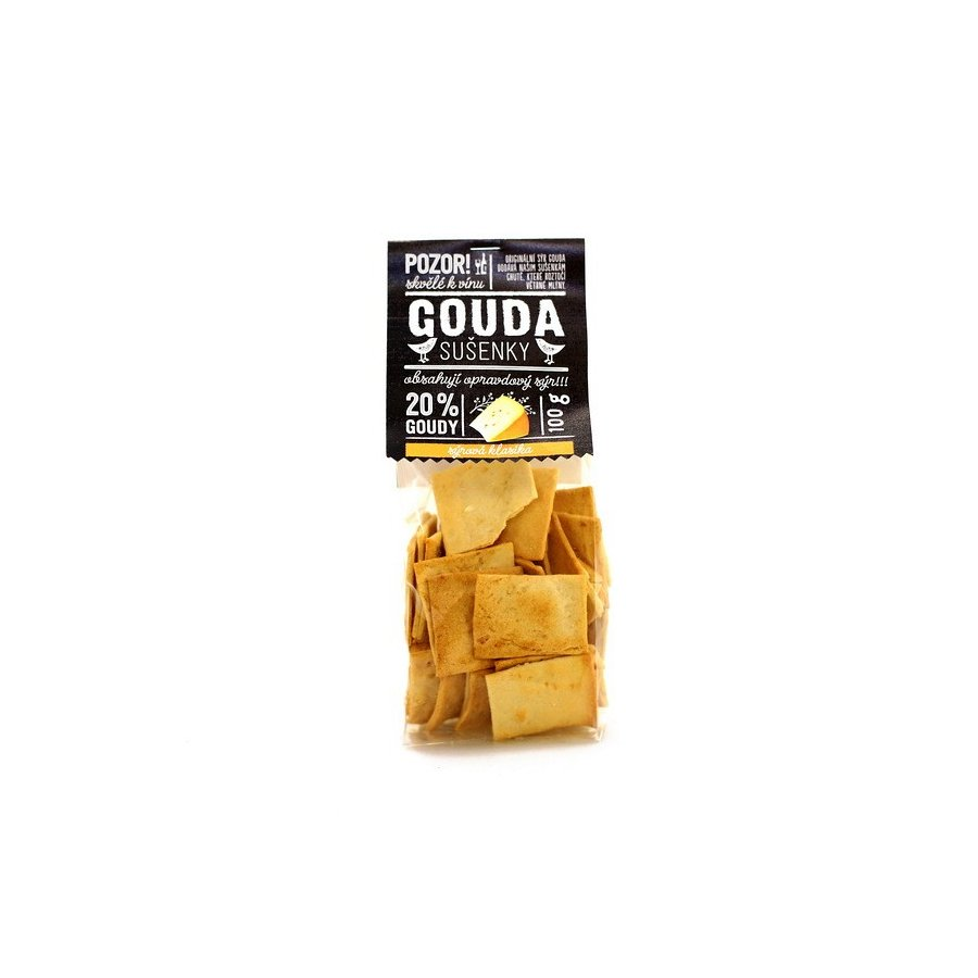 Easycheesy sušenky Gouda klasické