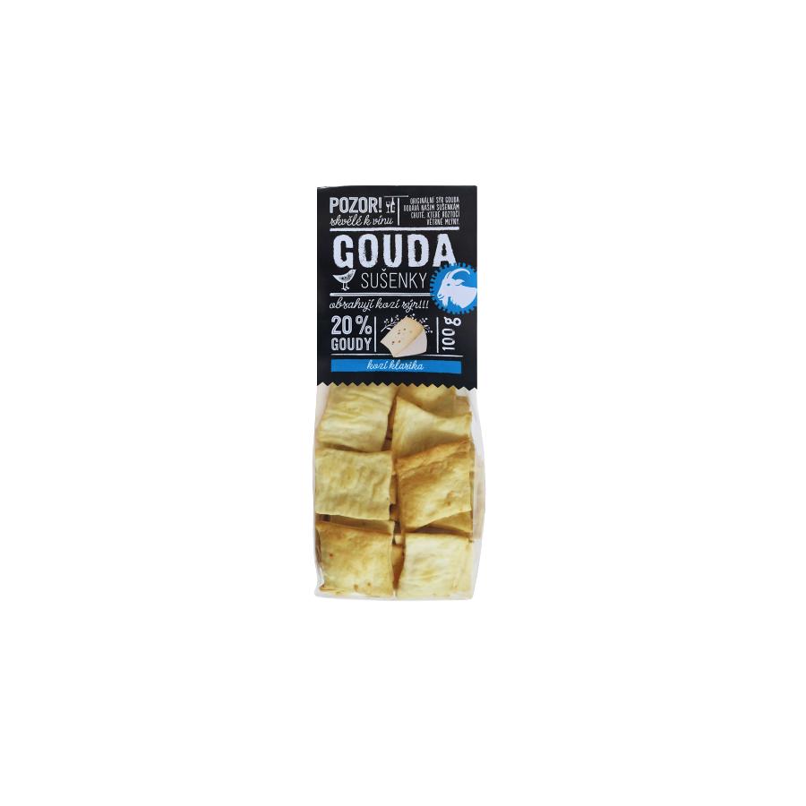 Easycheesy sušenky Gouda s kozím sýrem