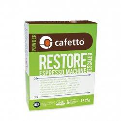 Cafetto Restore Espresso Machine Descaler odvápňovač 4x25g