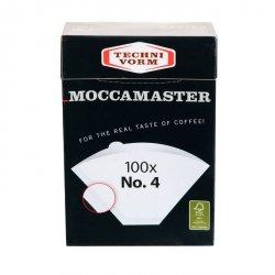 Papírové filtry Moccamaster vel. 4 (100ks)