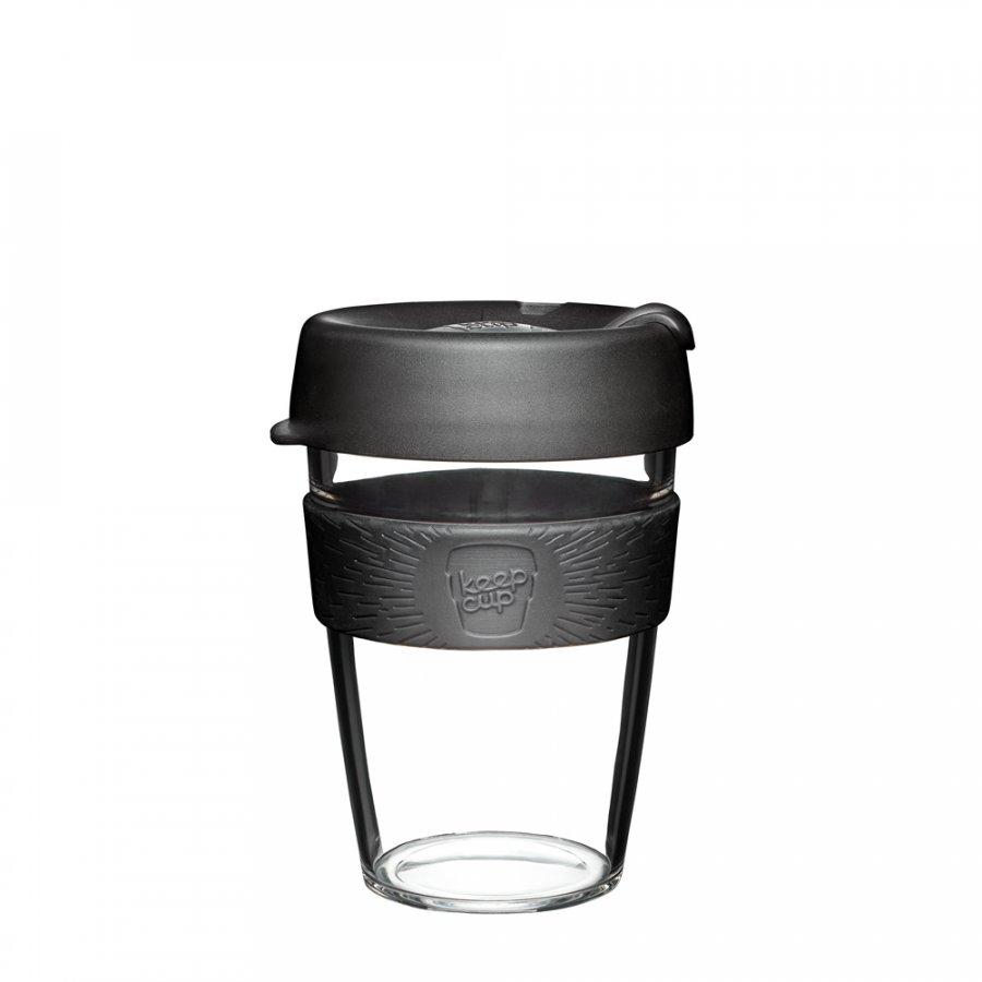 Keepcup Clear s černým držákem 0,34l