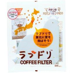 Papírové filtry Hario V60-02 Love Bird (20ks)