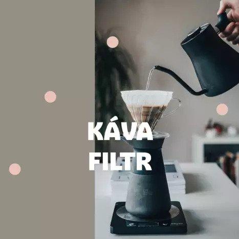 Káva filtr